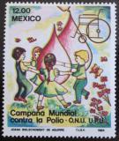 Poštovní známka Mexiko 1984 Boj proti obrně Mi# 1892