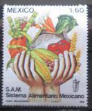 Poštovní známka Mexiko 1982 Potravinový systém Mi# 1848