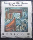 Poštovní známka Mexiko 1982 Masakr z Rio Blanco Mi# 1811
