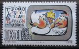Poštovní známka Mexiko 1976 Dětská televize Mi# 1533