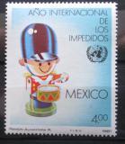 Poštovní známka Mexiko 1981 Mezinárodní rok postižených Mi# 1752