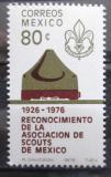 Poštovní známka Mexiko 1976 Skautská asociace Mi# 1534
