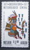 Poštovní známka Mexiko 1977 Bůh deště Tlaloc Mi# 1559