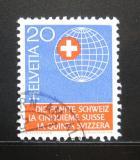 Poštovní známka Švýcarsko 1966 Swiss za hranicemi Mi# 841