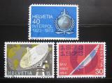 Poštovní známky Švýcarsko 1973 Výročí a události Mi# 988-90