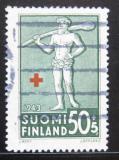 Poštovní známka Finsko 1943 Červený kříž Mi# 271