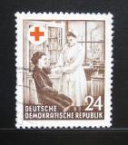 Poštovní známka DDR 1953 Červený kříž Mi# 385