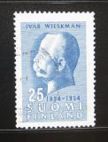 Poštovní známka Finsko 1954 Ivar Wilskman Mi# 421