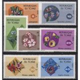 Poštovní známky Čad 1975 Květiny Mi# 712-18 Kat 9.50€