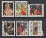 Poštovní známky Čad 1969 Umění Mi# 264-69
