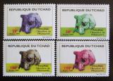 Poštovní známky Čad 2005 Fosílie Mi# 2510-13