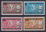 Poštovní známky Togo 1963 Prezident Lincoln Mi# 373-76