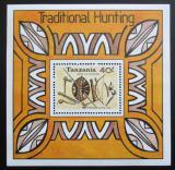 Poštovní známka Tanzánie 1992 Lovecké zbraně Mi# Block 196