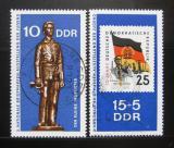 Poštovní známky DDR 1970 Výstava mladých filatelistů Mi# 1613-14