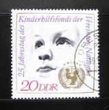 Poštovní známka DDR 1971 UNICEF, 25. výročí Mi# 1690
