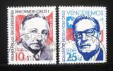Poštovní známky DDR 1973 Solidarita s Chilany Mi# 1890-91