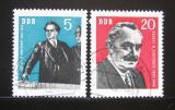 Poštovní známky DDR 1962 Jiří Dimitrov Mi# 893-94