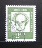 Poštovní známka Západní Berlín 1961 Gerhart Hauptmann Mi# 213