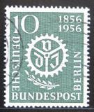 Poštovní známka Západní Berlín 1956 Společnost inženýrů Mi# 138