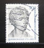 Poštovní známka Západní Berlín 1972 Friedrich Gilly, sochař Mi# 422