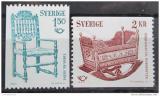Poštovní známky Švédsko 1980 NORDEN spolupráce Mi# 1115-16
