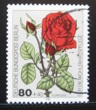 Poštovní známka Západní Berlín 1982 Růže Mi# 682
