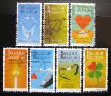 Poštovní známky Belgie 1999 Pozdravy Mi# 2848-54