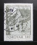 Poštovní známka Faerské ostrovy 1978 Stará knihovna Mi# 39