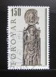 Poštovní známka Faerské ostrovy 1980 Náboženské umění Mi# 57