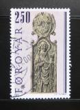 Poštovní známka Faerské ostrovy 1984 Náboženské umění Mi# 93