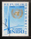 Poštovní známka Rakousko 1976 UNIDO, 10. výročí Mi# 1532