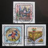 Poštovní známky Rakousko 1992 Lidové slavnosti Mi# 2073-75