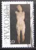 Poštovní známka Faerské ostrovy 2007 Dřevěná socha Mi# 624