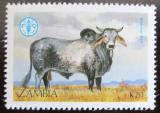 Poštovní známka Zambie 1987 Skot, Brahma Mi# 432 Kat 6.50€