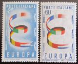 Poštovní známky Itálie 1957 Evropa CEPT Mi# 992-93