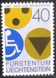 Poštovní známka Lichtenštejnsko 1981 Mezinárodní rok postižených Mi# 774