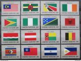 Poštovní známky OSN New York 1982 Vlajky Mi# 397-412