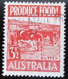 Poštovní známka Austrálie 1953 Výroba másla Mi# 226