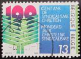 Poštovní známka Belgie 1986 Křesťanské odbory Mi# 2291