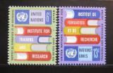 Poštovní známky OSN New York 1969 UNITAR Mi# 208-09