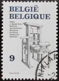 Poštovní známka Belgie 1988 Tiskařský stroj Mi# 2361