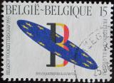 Poštovní známka Belgie 1993 Prezidenství v EU Mi# 2571