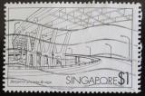Poštovní známka Singapur 1985 Most Benjamin Sheares Mi# 462