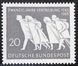 Poštovní známka Německo 1965 Výročí německého vyhoštění Mi# 479