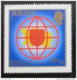 Poštovní známka Jersey 1983 Mapa a znak Mi# 308