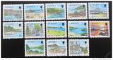 Poštovní známky Jersey 1989 Pohledy z Jersey Mi# 463-75