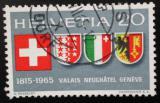 Poštovní známka Švýcarsko 1965 Erby Mi# 819
