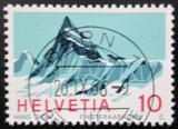 Poštovní známka Švýcarsko 1965 Finsteraarhorn Mi# 842