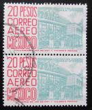Poštovní známky Mexiko 1952 Moderní budova Mi# 991 II Kat 20€