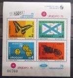 Poštovní známky Uruguay 1978 URUEXPO Mi# Block 40 Kat 18€